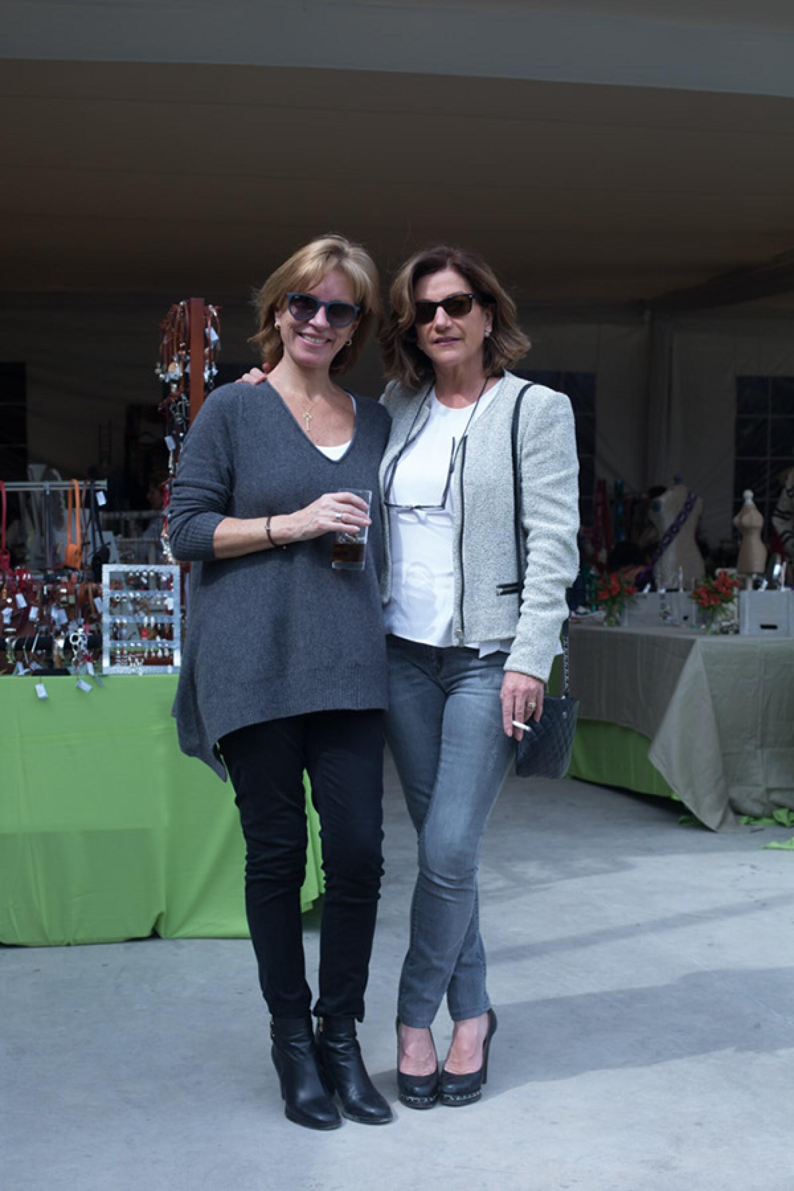 Mariel Jenkins y Cristina Lascurain