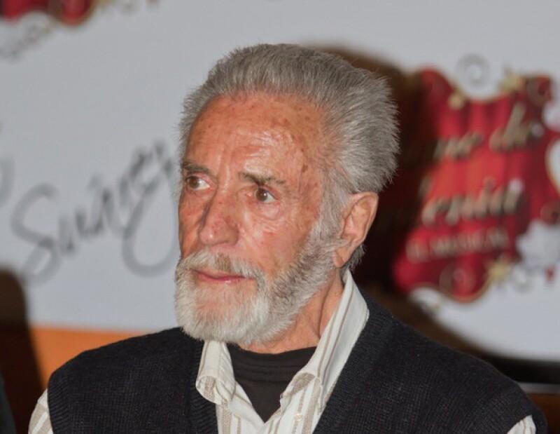 Aquí el recuento desde que se supo que el primer actor estaba muy delicado de salud y lamentablemente falleció el 11 de abril.
