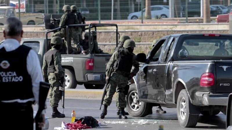 Policía Ejército Coahuila ataques