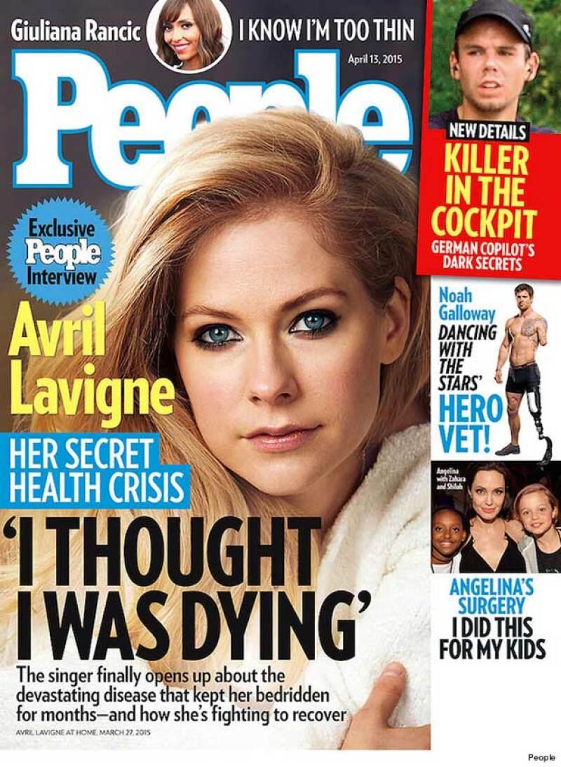 Recientemente Avril Lavigne reveló que se encuentra en proceso de recuperación de esta enfermedad con la que pensó que moriría, misma que ha atacado a otros famosos como Thalía y Richard Gere.