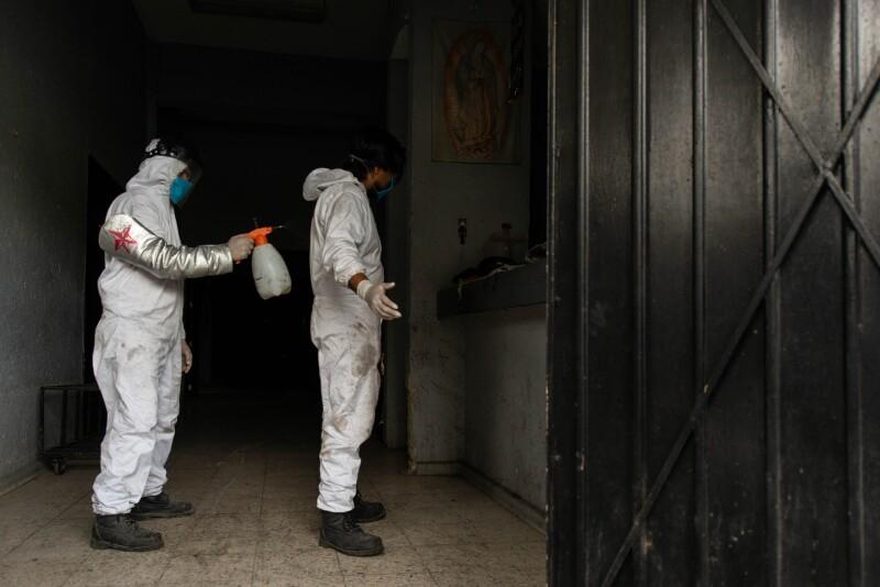 Crematorio durante la pandemia