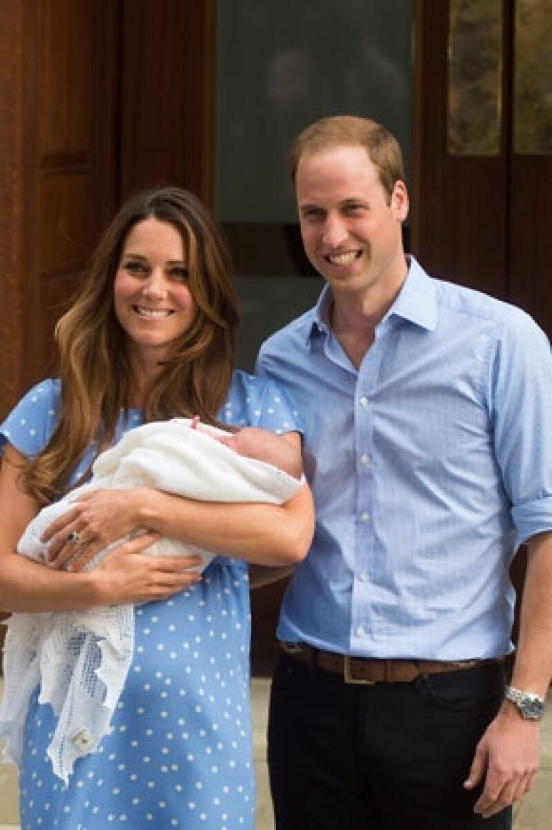 George, será bautizado el 23 de octubre en la Capilla Real del Palacio de St. James