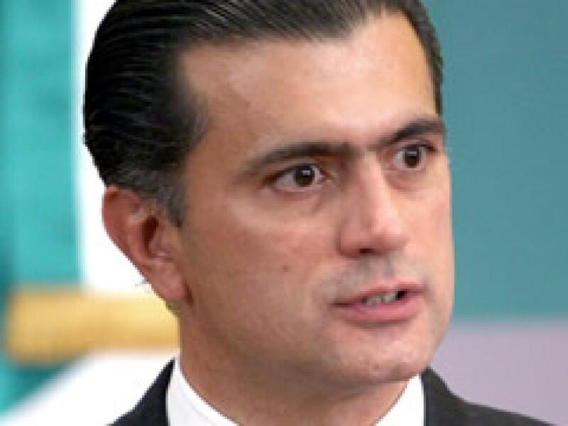 Alonso Lujambio es el nuevo secretario de Educación Pública. (Foto: NTX)
