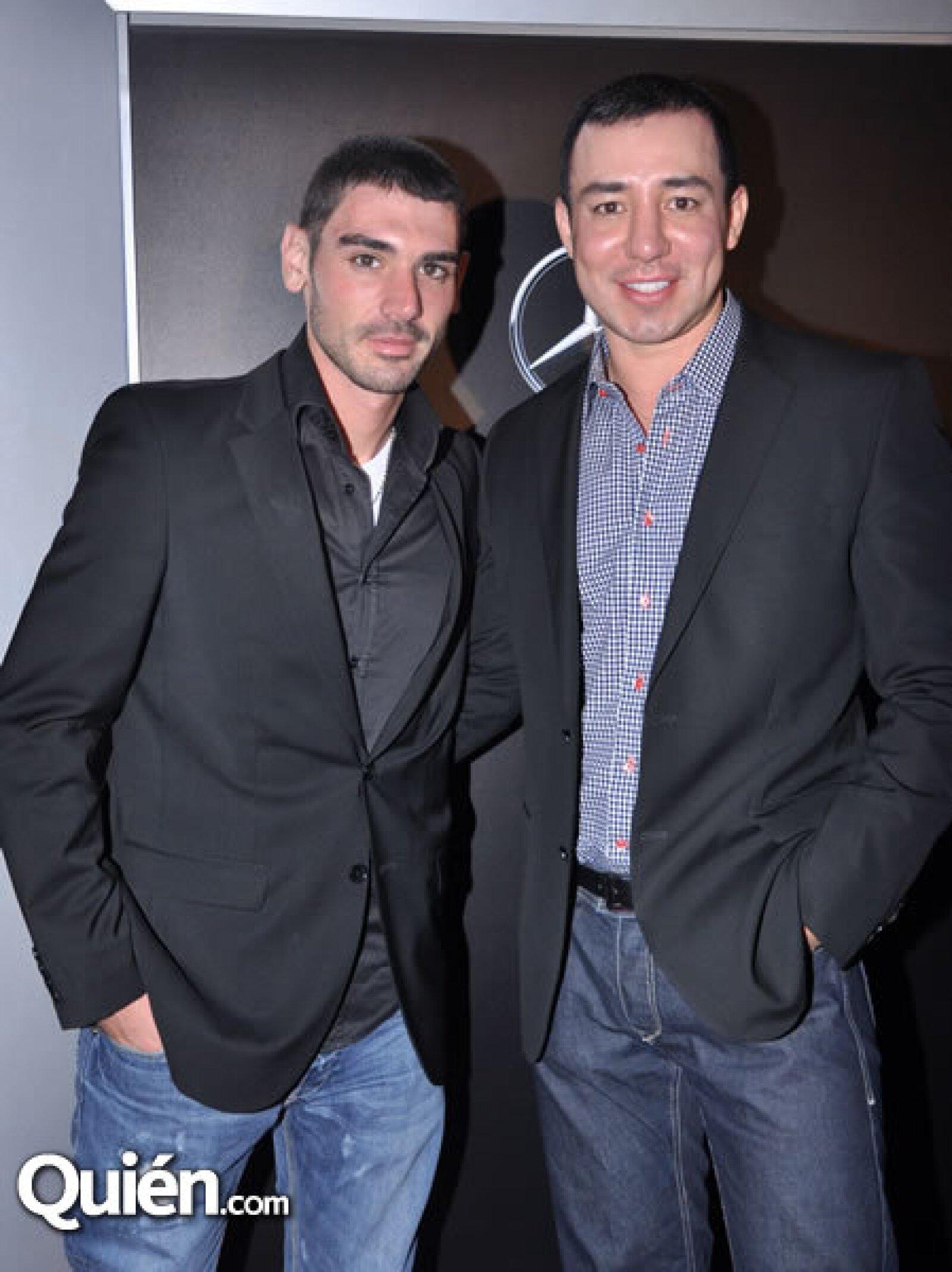 Adrián López y Héctor Uribe