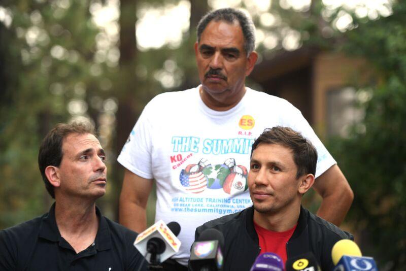 Abel Sánchez entrenador Golovkin