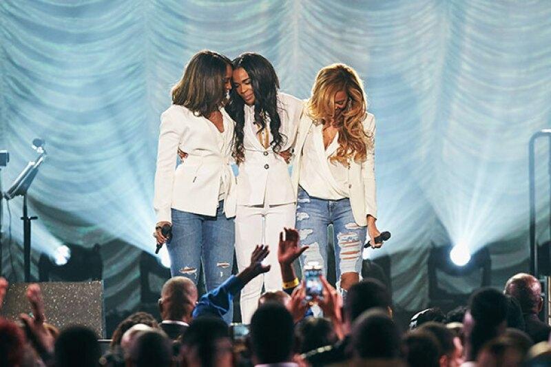 """Juntas cantaron el tema """"Say Yes"""", del último material discográfico de Michelle Williams."""