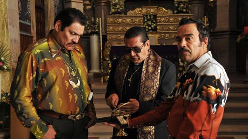 Damian Alcazar protagoniza la pelicula El Infierno