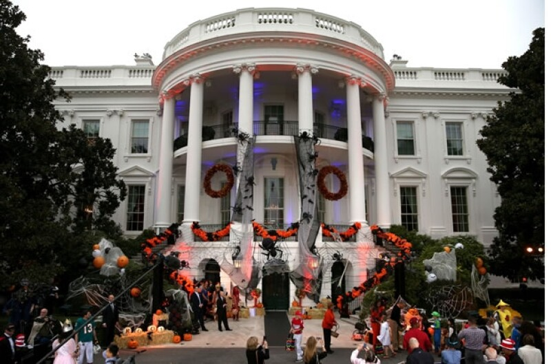 Así estuvo decorada la Casa Blanca.