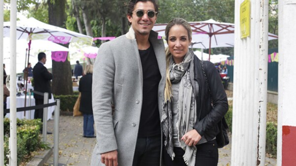 Saúl Moreno y Paula Arango