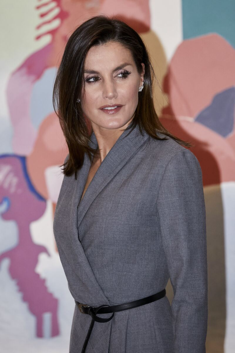 "Queen Letizia Ortiz of Spain attending  ""Poeticas de la"