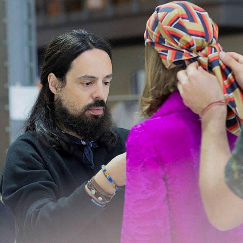 Alessandro Michele presenta su primera colección Resort para Gucci.