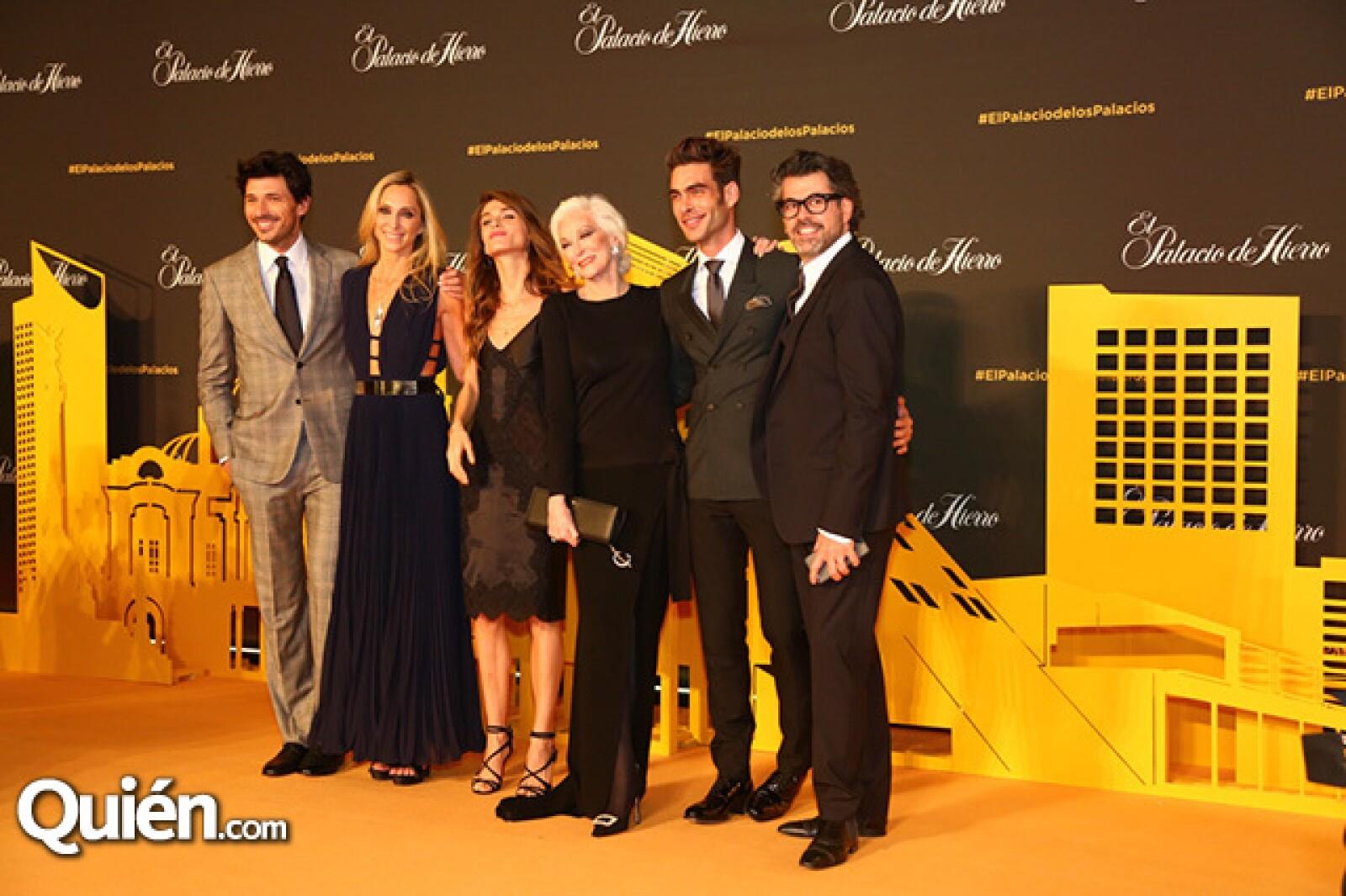 Andrés Velencoso,Francoise Lavertu,Elisa Cednauri,Carmen Dell`Orefice,Jon Kortajarena,Carlos Salcido