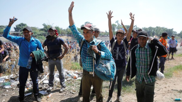 caravana migrante 2020