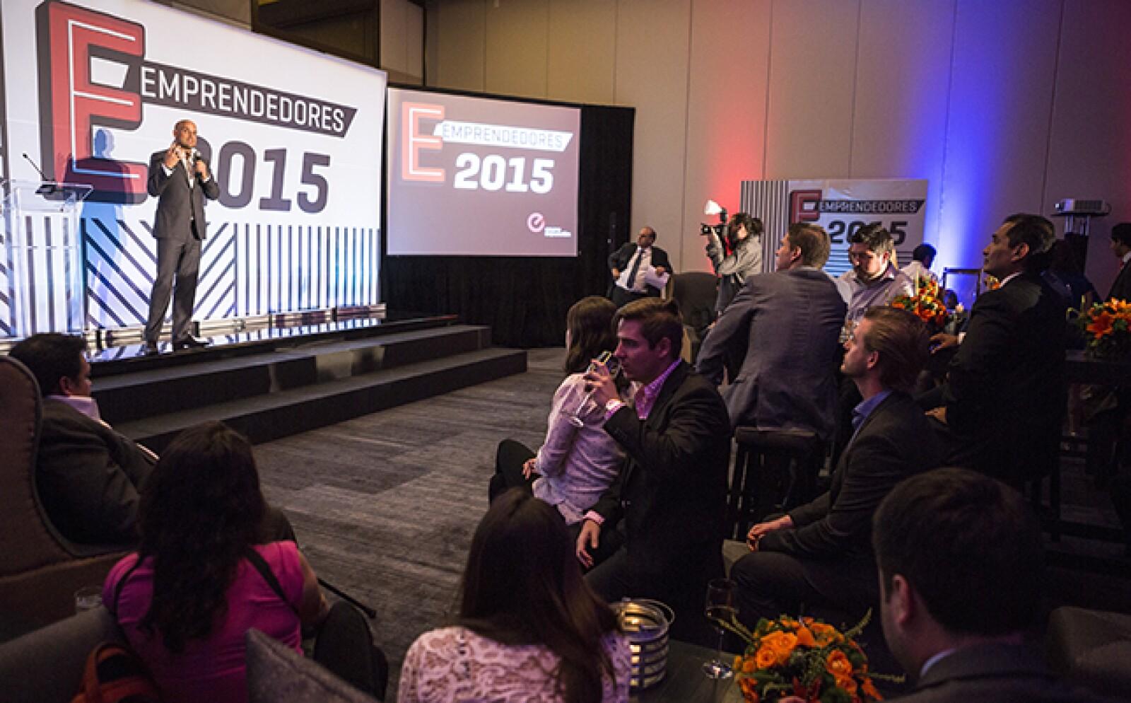 """El CEO de Grupo Expansión, Manuel Rivera, dio un mensaje de bienvenida a los finalistas. """"Que tengan en Expansión y CNNExpansión el socio que los apoye en aprendizaje y exposición"""", dijo."""