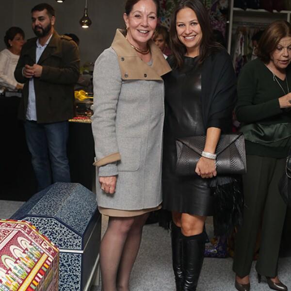 Francoise Reinadu y Mara Yáñez