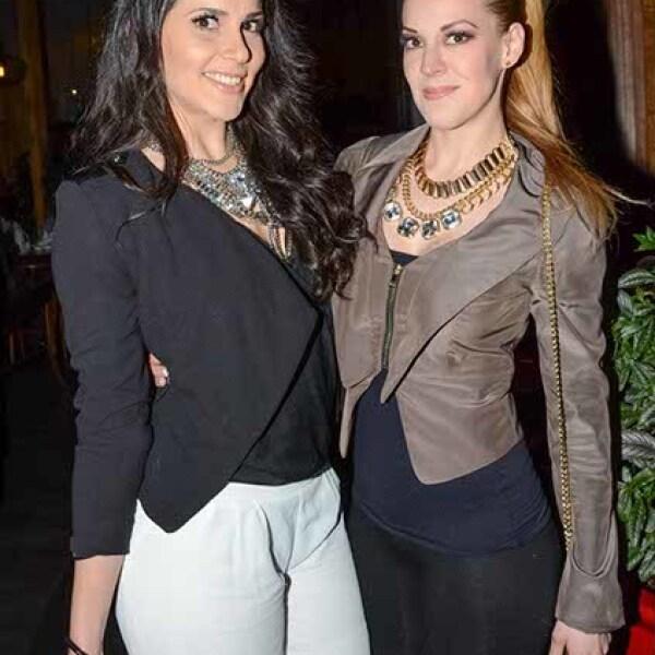 Eva Cedeño y Natalya Carrasco.