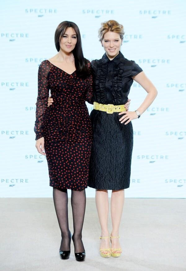 Monica Bellucci y Lea Seydoux serán las nuevas chicas Bond.