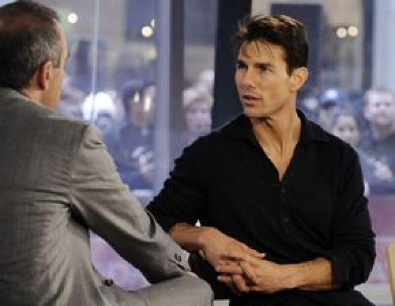 Al actor se le cortó la voz durante una entrevista para la cadena ABC.