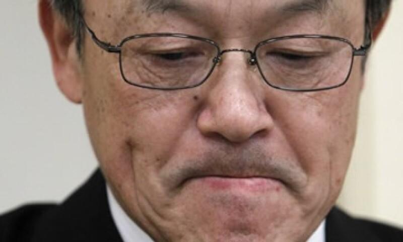 Shuichi Takayama, presidente de Olympus explicó que su sucesor será elegido por un comité de designaciones creado por la empresa. (Foto: Reuters)