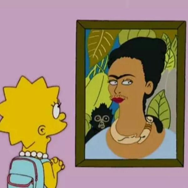 10 obras de arte parodiados por Los Simpsons
