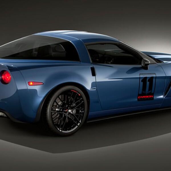 La edición de 500 unidades fue creada para conmemorar el 50 aniversario de la primera carrera del Corvette en las 24 Hrs de Le Mans.
