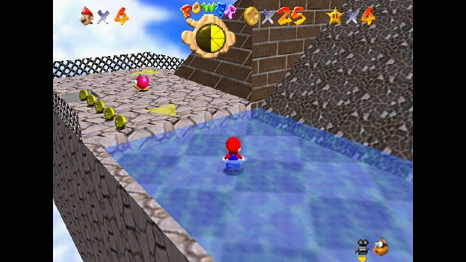 Mario Bros Nintendo 64 videojuego