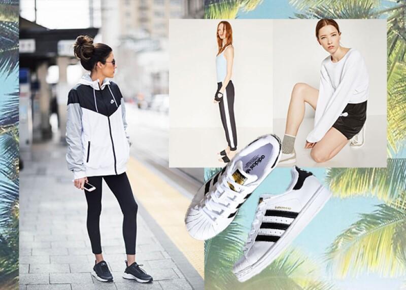 El look sport es una de las tendencias más fuertes de la temporada.