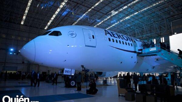 Avión Aeroméxico Boeing 787