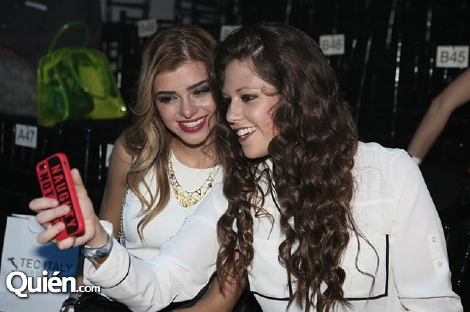 Carla Mauri y Ana Paola Péres Arizti
