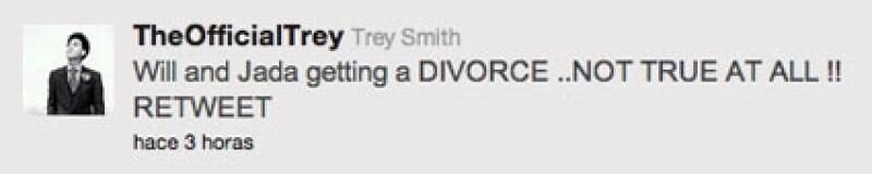Trey defendió a su papá en Twitter.