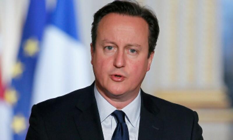 David Cameron, en su reciente visita a Francia tras los ataques de París. (Foto: Getty Images)
