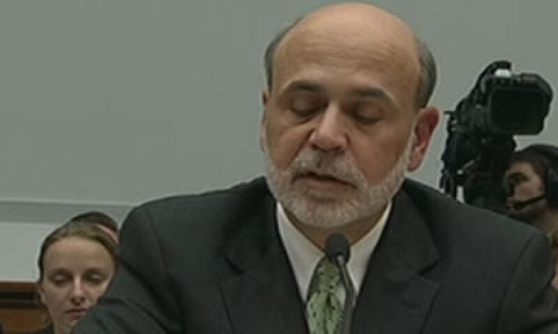 Ben Bernanke compareció ante un panel del Senado. (Foto: AP)