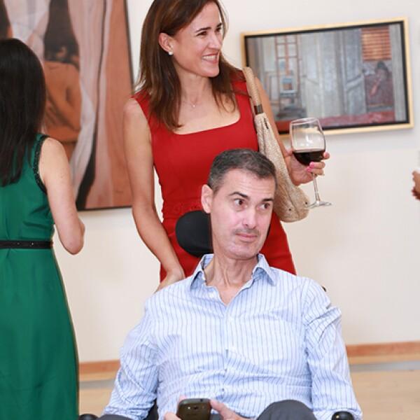 Pablo Ferrara y Yolanda Saro de Ferrara