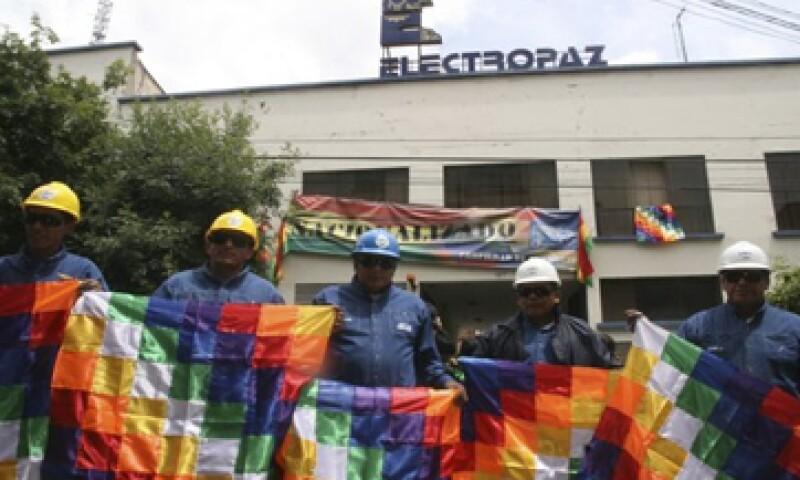 Además de Electropaz fueron nacionalizadas Elfeo de Oruro, la Compañía Administradora de Empresas Boliviana y la Empresa de Servicios Edeser. (Foto: Reuters)