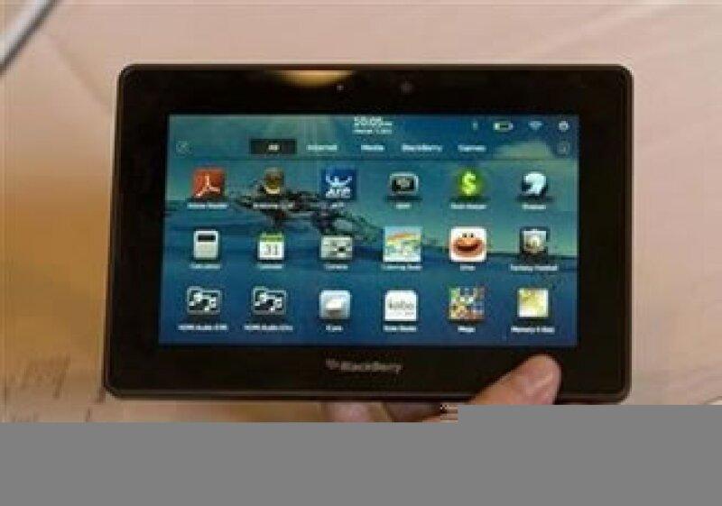 Playbook tiene el mismo costo que la iPad de Apple. (Foto: Reuters)