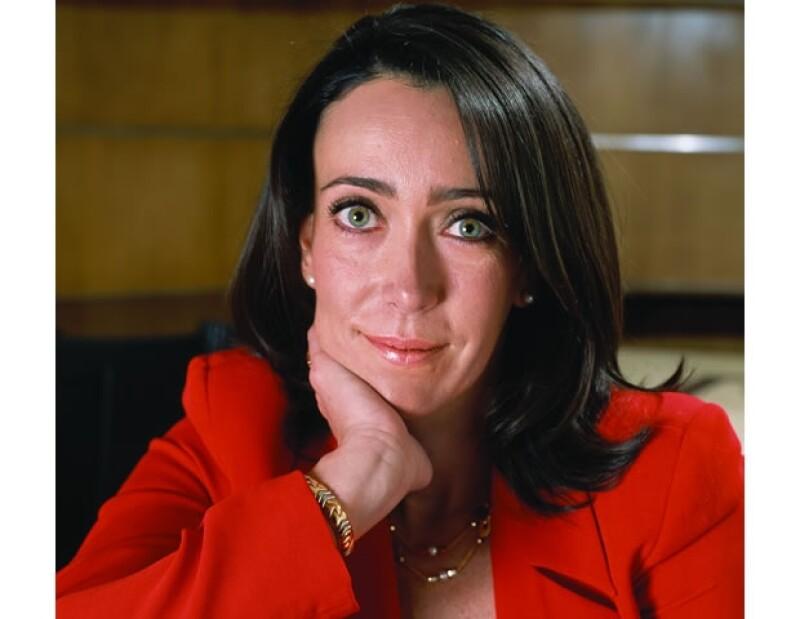 """María Asunción Aramburuzabala ocupó el puesto uno en el ranking """"Las 50 mujeres más poderosas de México"""", el año pasado."""