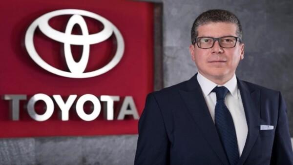 Luis Lozano, presidente de Toyota Motors México