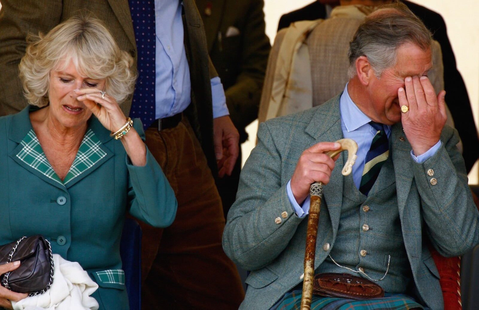 Charles And Camilla Attend Annual Mey Games