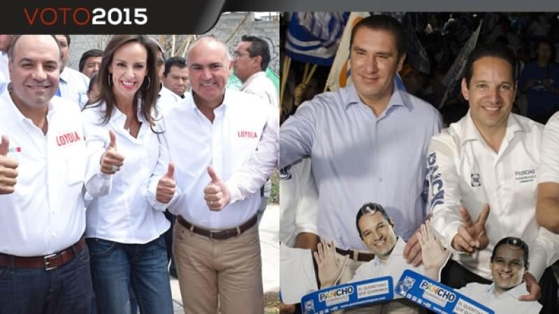 Gobernadores en Querétaro
