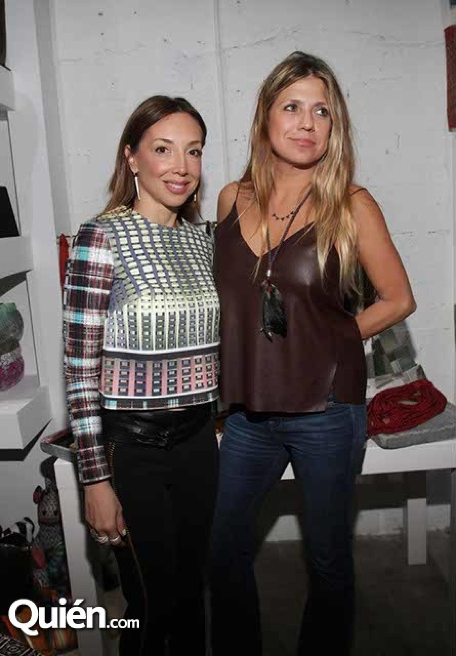 Carolina Gómez y Tuti Bruzual
