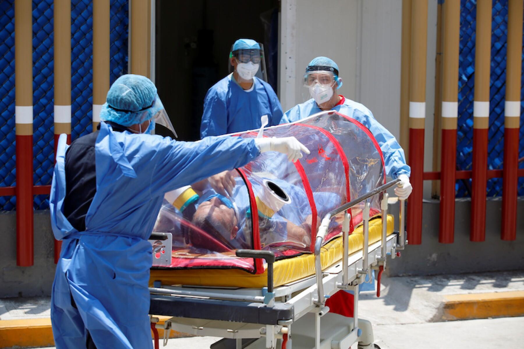 Personal médico México