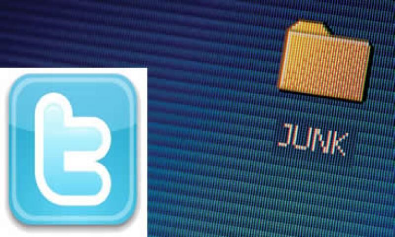 Twitter indicó en su blog que sus ingenieros recientemente han puesto en marcha nuevas medidas anti spam. (Foto: Especial)