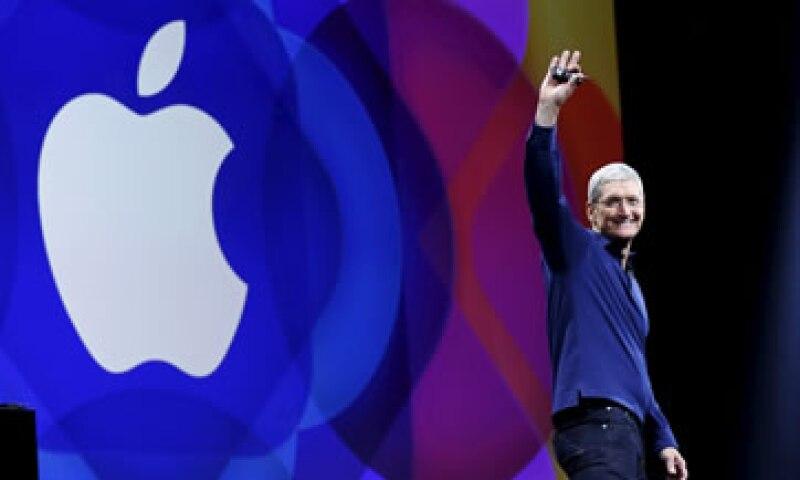 El jefe de Apple, Tim Cook, encabezó la presentación de la firma de la manzana en San Francisco. (Foto: Reuters)