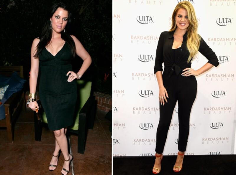La actriz hizo un esfuerzo por cambiar sus hábitos alimenticios y hacer ejercicio. Su cambio es sorprendente.