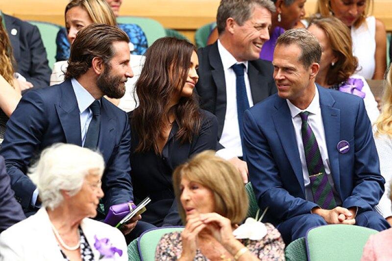 El ex tenista Stefan Edberg es la razón por la que Bradley parecía enojado.
