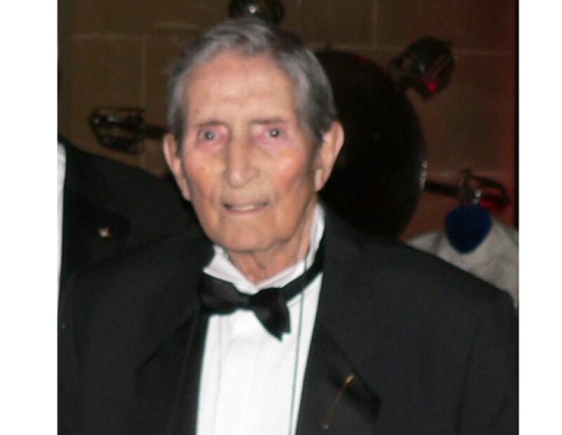 El esgrimista murió a la edad de 89 años.