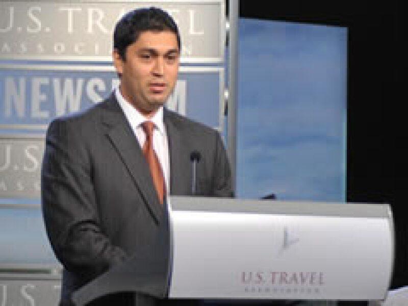 El inmigrante mexicano, Francisco Saldaña será el nuevo portavoz del turismo en EU. (Foto: Notimex)