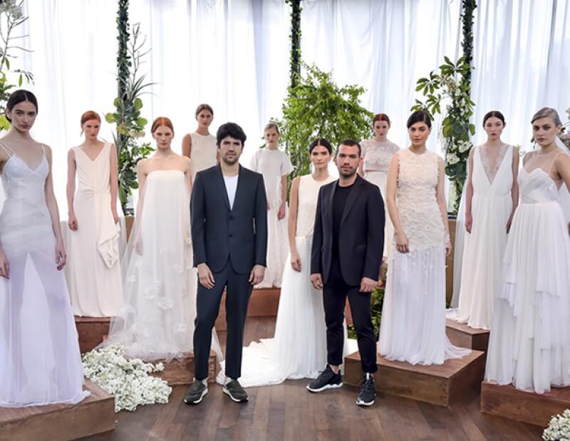 Tristán e Isolda es la nueva colección bridal de Francisco Cancino y José Alfredo Silva.
