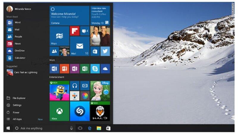 El nuevo sistema operativo de Microsoft será presentado oficialmente este miércoles. (Foto: Microsoft)