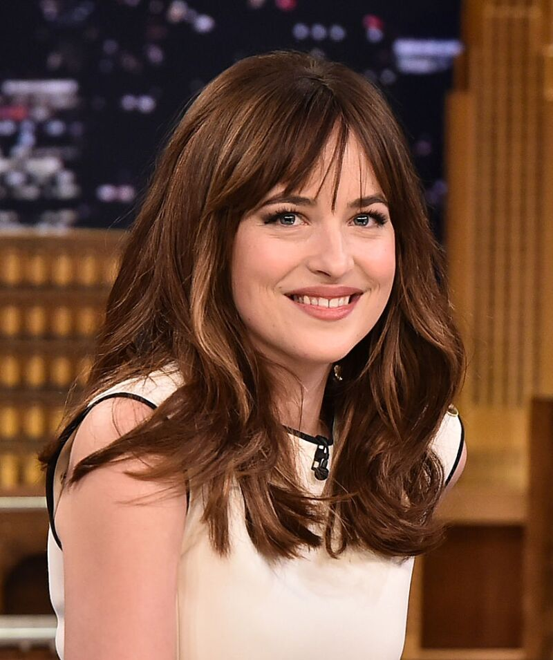 "Dakota Johnson Visits ""The Tonight Show Starring Jimmy Fallon"""